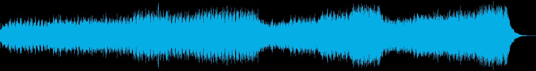 企業紹介映像、近未系エレクトロ、dr無しの再生済みの波形