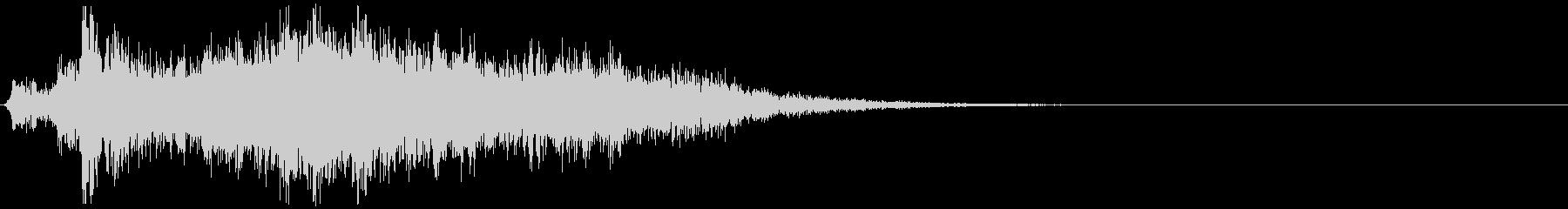 長めの武器強化orバフ音の未再生の波形
