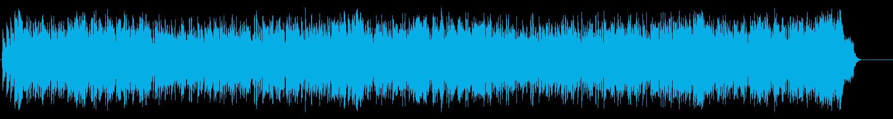 穏やかなミディアム・バラード/ポップの再生済みの波形