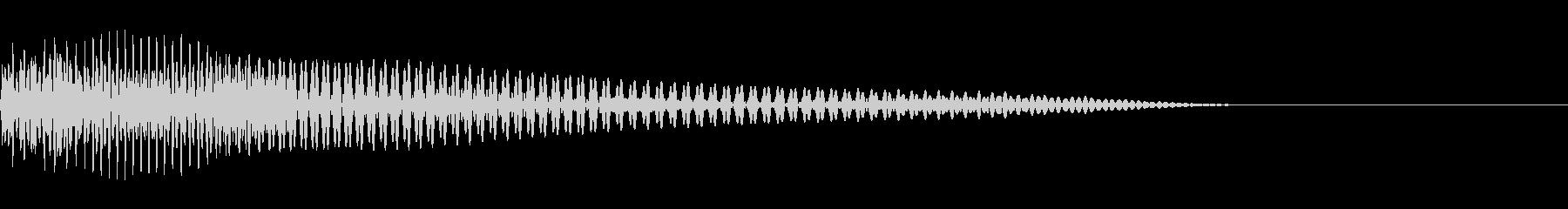 ベース/ドゥーン/ネックスライド/A01の未再生の波形