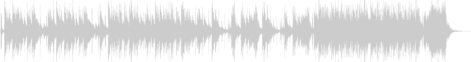 日本伝統音楽5(和太鼓)の未再生の波形