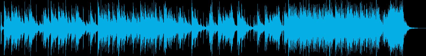 日本伝統音楽5(和太鼓)の再生済みの波形