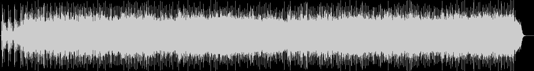 打楽器とシンセのパンが繋ぐシンフォニーの未再生の波形