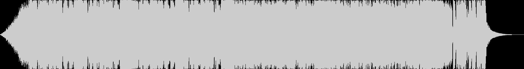 アグレッシブニューメタルヘヴィロックbの未再生の波形