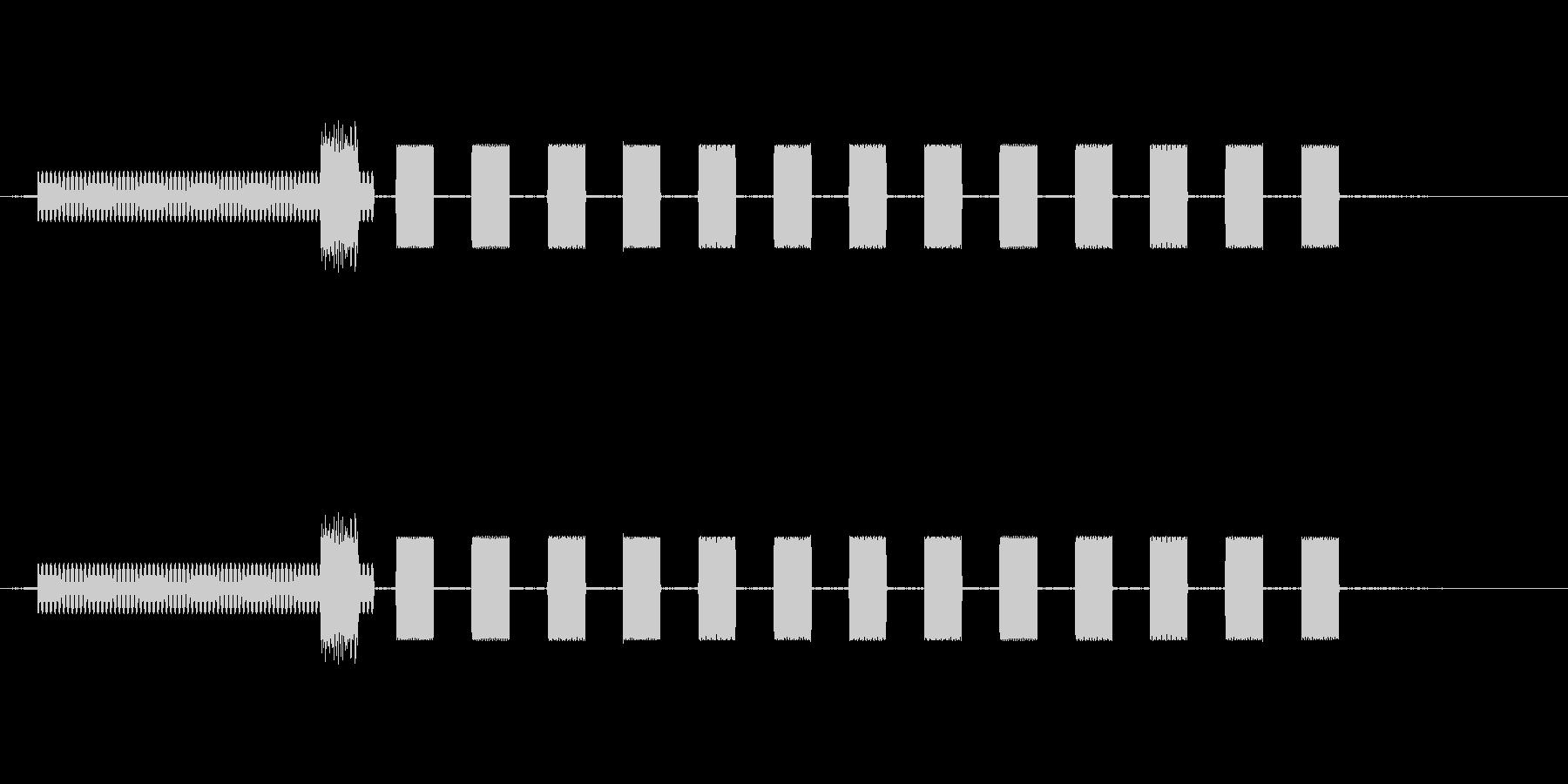 56kダイヤルアップモデムダイヤルの未再生の波形