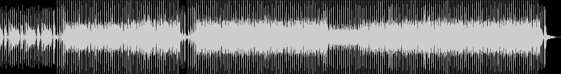 ホリデー/バカンスの雰囲気のある明...の未再生の波形