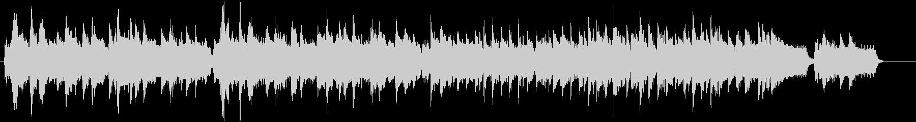アコーディオン カントリー USA国歌の未再生の波形