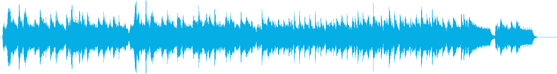 アコーディオン カントリー USA国歌の再生済みの波形