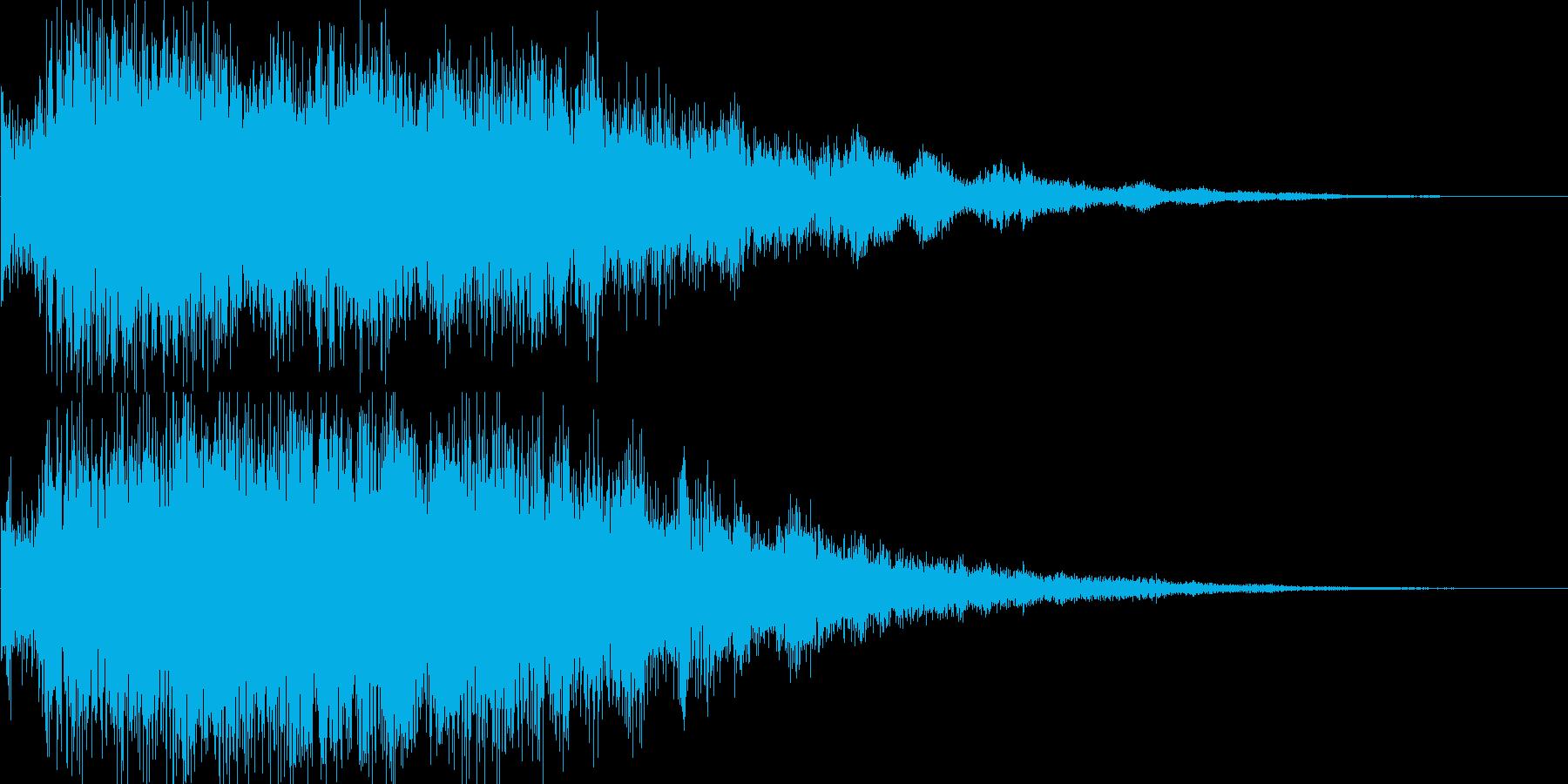 良い音、キラーン、チャンス音、出現、魔法の再生済みの波形