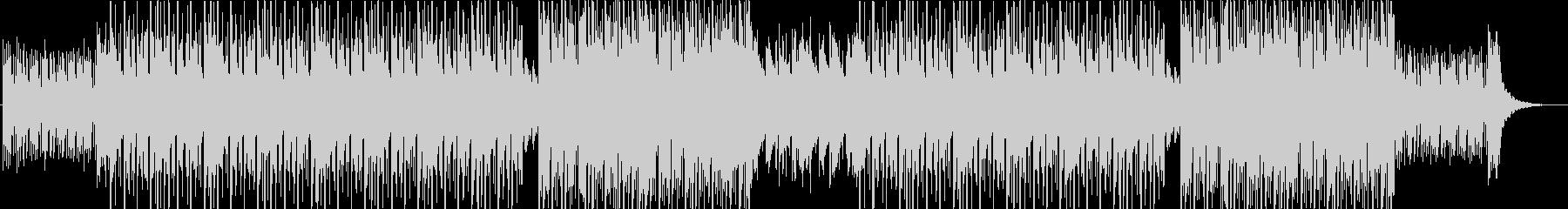 ジャスティン・ビーバータイプポップR&Bの未再生の波形