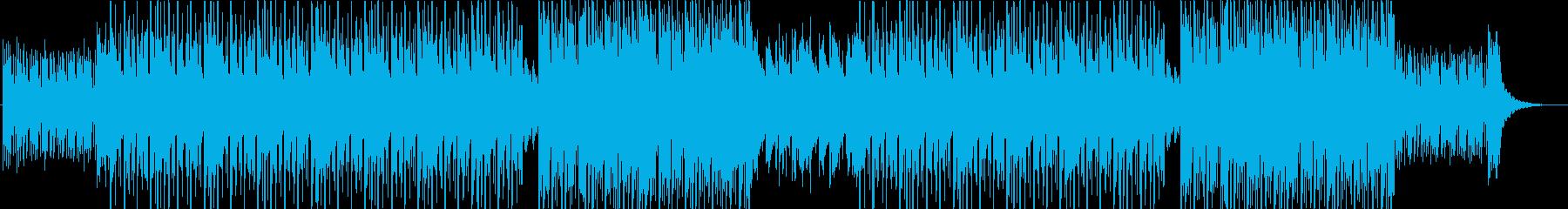 ジャスティン・ビーバータイプポップR&Bの再生済みの波形