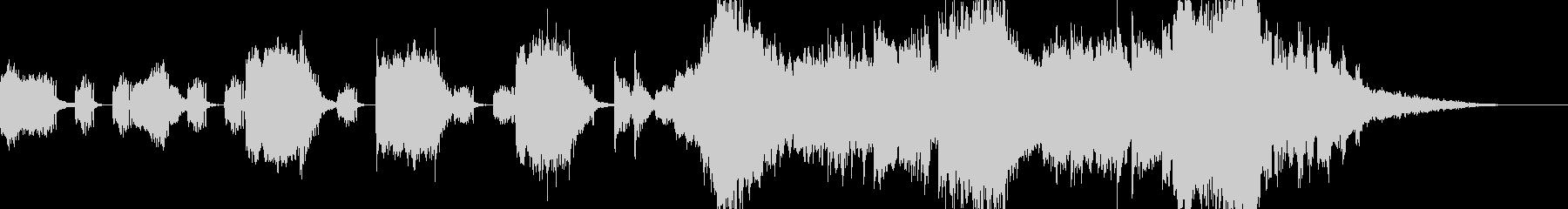 オーケストラ 警告音 危機感 予告動画の未再生の波形