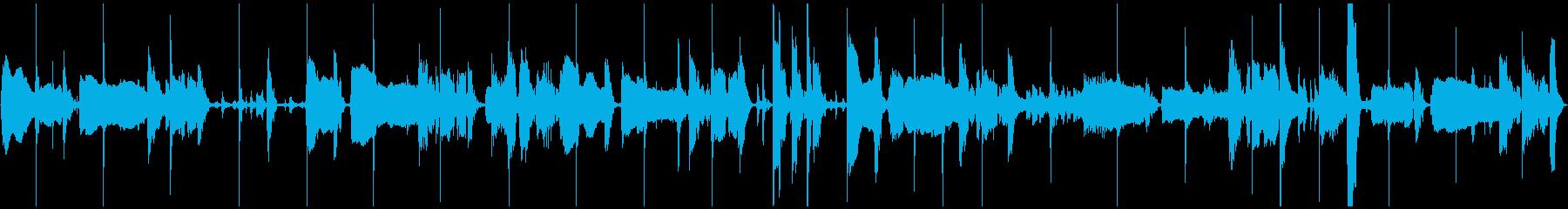 サラサラ ジャズ フュージョン ブ...の再生済みの波形