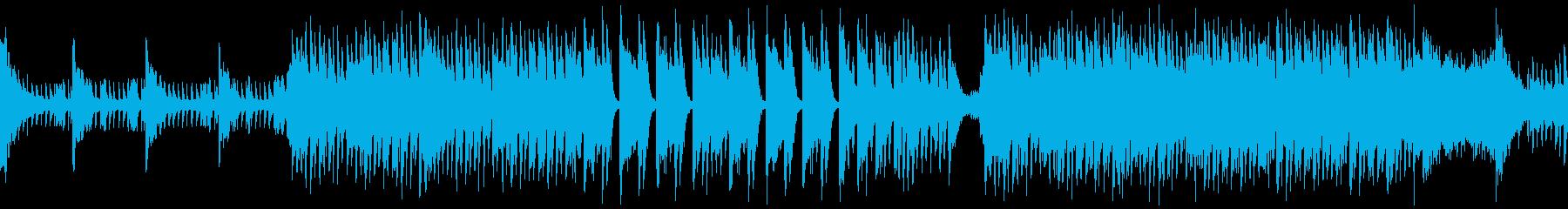 明るく軽快なマリンバのマーチング風BGMの再生済みの波形