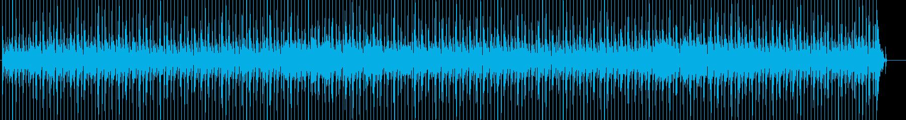 森の生き物が登場・アコースティック曲の再生済みの波形