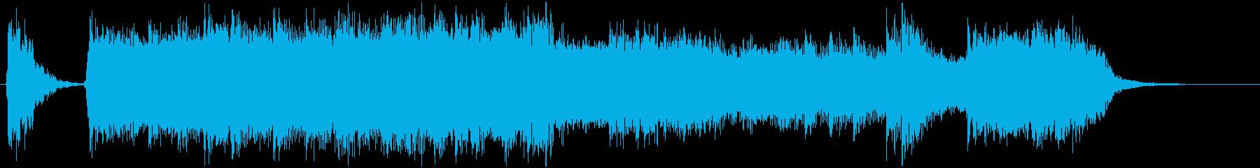 ライブ終わりによくあるタカドンジャーンの再生済みの波形