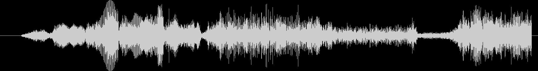モンスター グリッチトーク05の未再生の波形