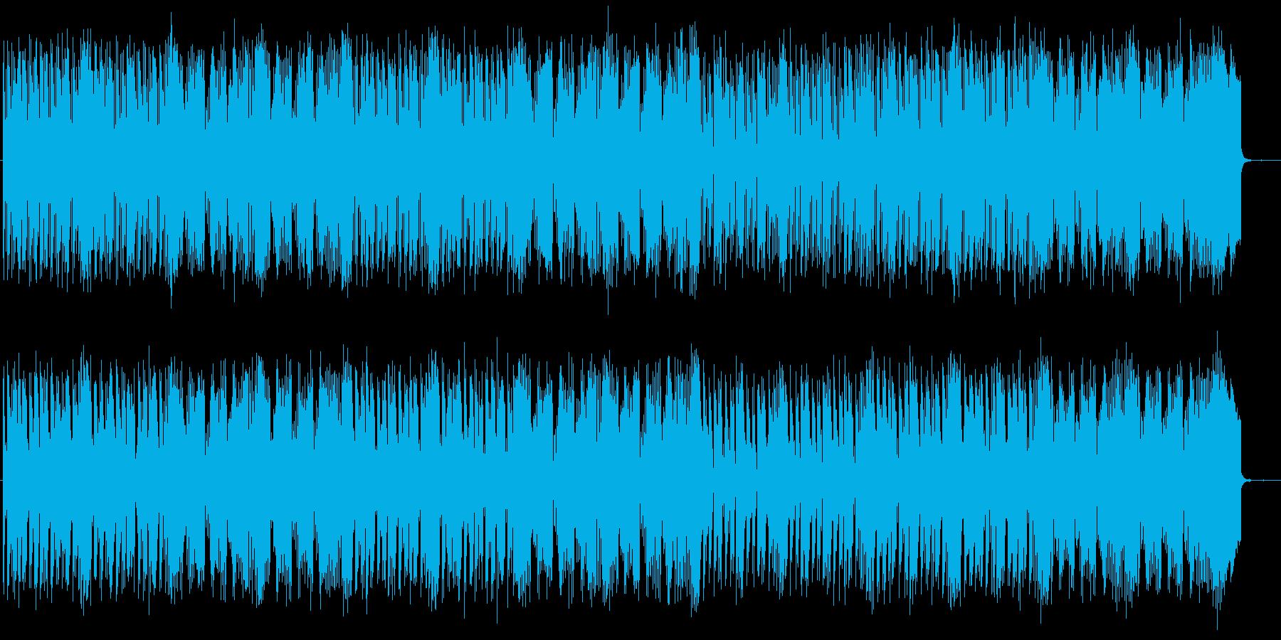 ファンタジックな世界観のポップスの再生済みの波形