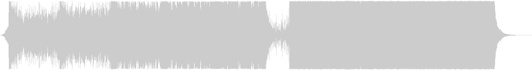 決戦のシーン/オーケストラ+エレクトロの未再生の波形