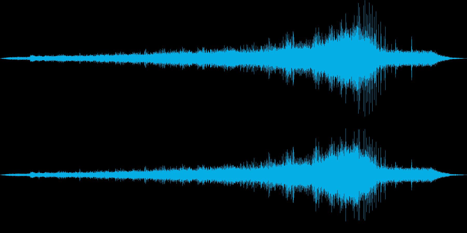 ブルドーザー:アプローチヘッドオン...の再生済みの波形