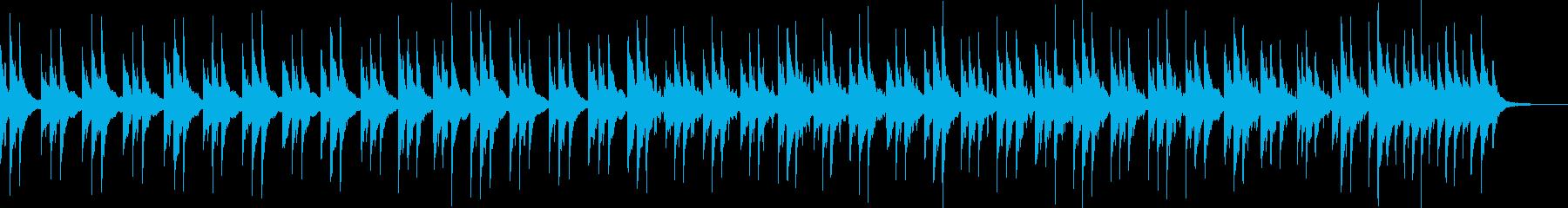 ゆったりとしたヒーリング的ピアノソロの再生済みの波形