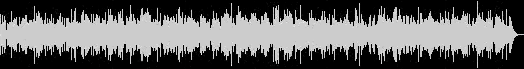 アコースティックなボサノバ、トロンボーンの未再生の波形