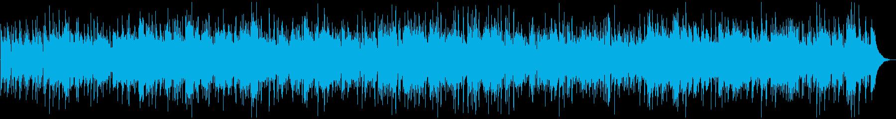 アコースティックなボサノバ、トロンボーンの再生済みの波形