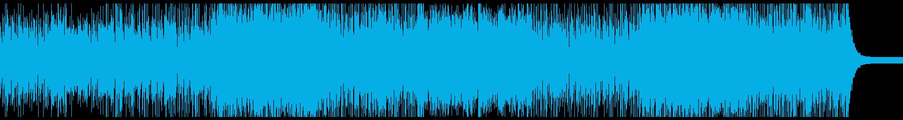 不思議な朝の音楽の再生済みの波形