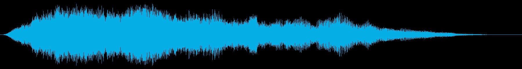 ソフトエントランストランジションま...の再生済みの波形