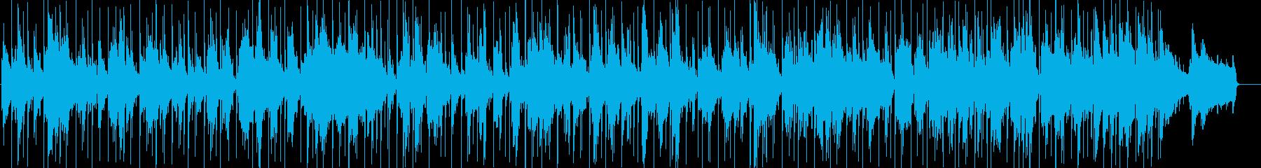 おしゃれでアダルトな雰囲気のBGMの再生済みの波形