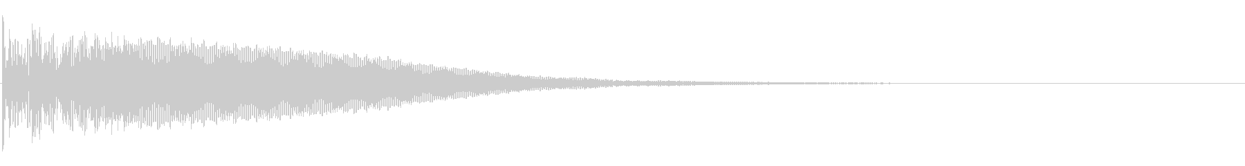 和太鼓「どどん」大きめの太鼓-01の未再生の波形