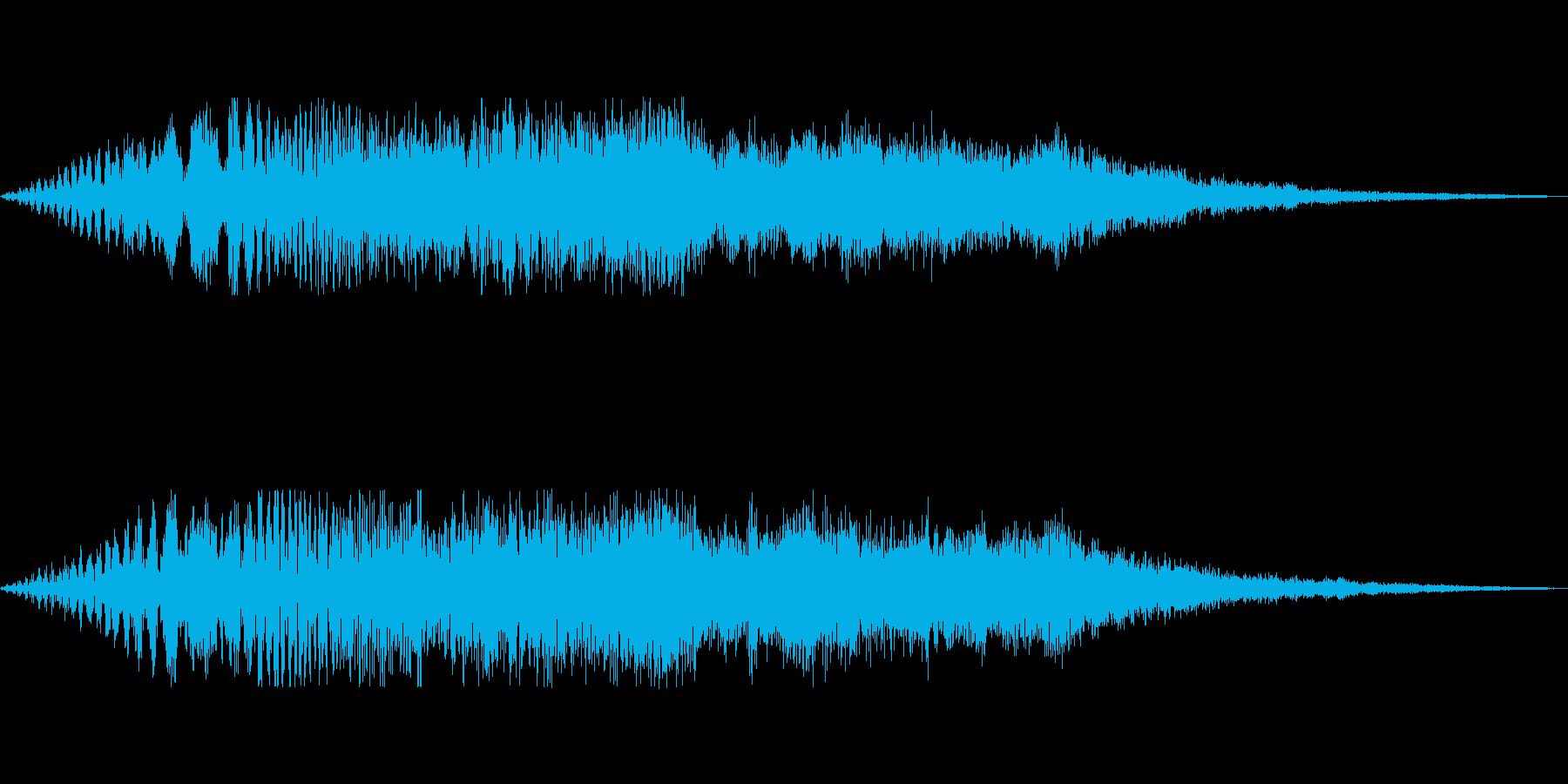 [ポワーン]経験値アップ(シンセ系)の再生済みの波形