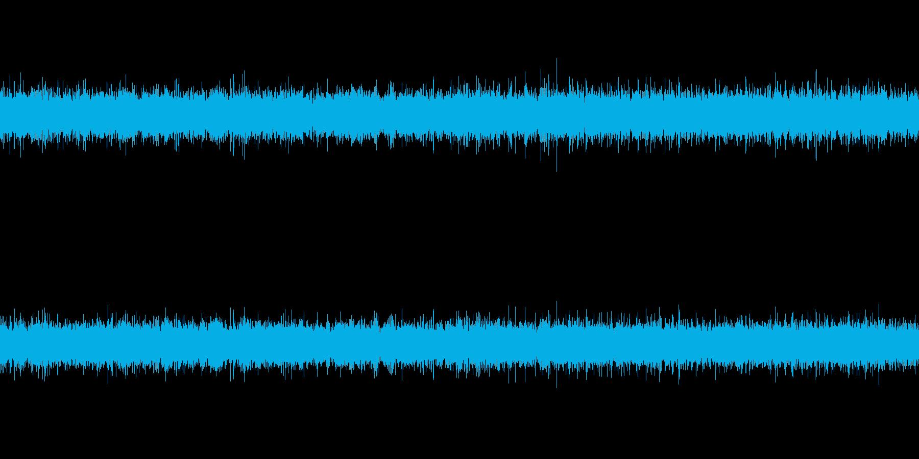 川の源流・滝(ループ)の再生済みの波形