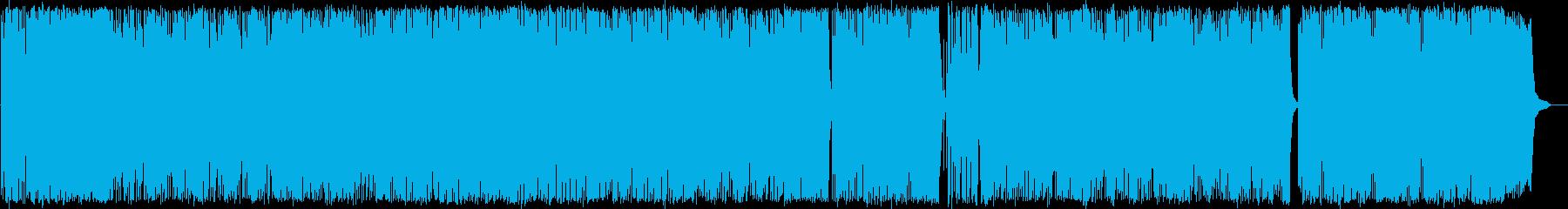おしゃれで明るく爽やかなエレクトーンの再生済みの波形
