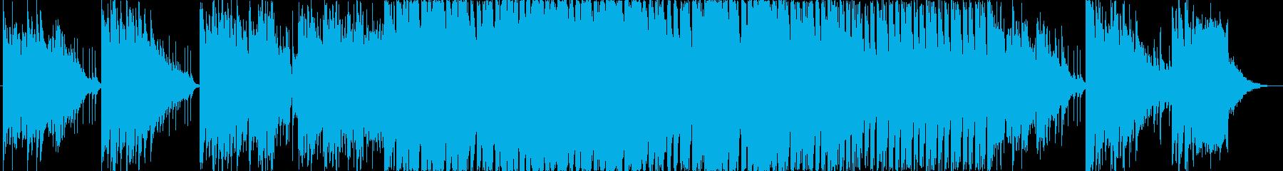 城に忍び込んだくノ一の和風テイスト音楽の再生済みの波形
