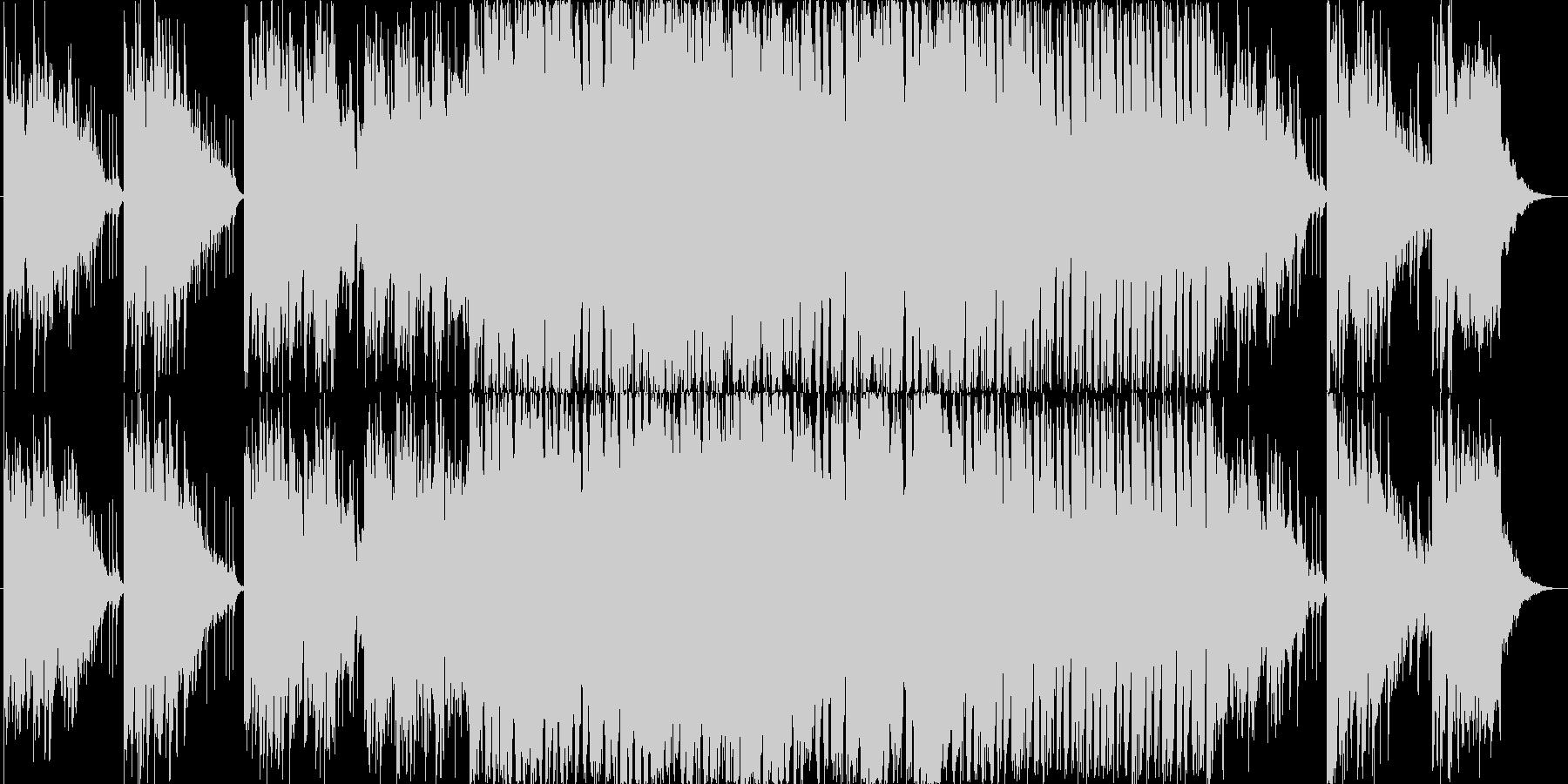 城に忍び込んだくノ一の和風テイスト音楽の未再生の波形