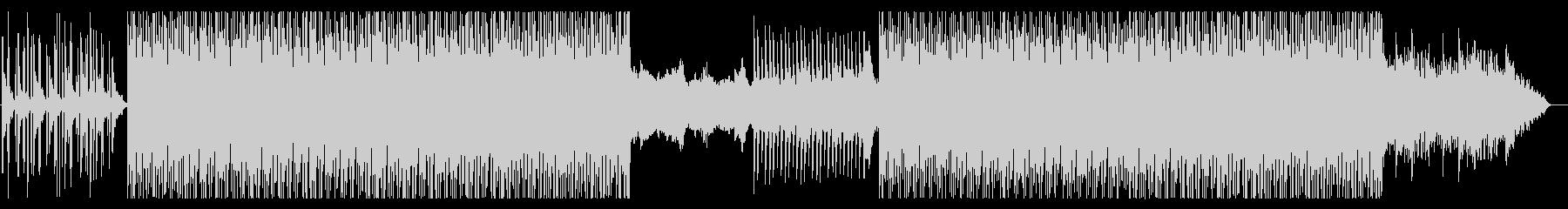 さわやかなハウス(トロピカル)の未再生の波形