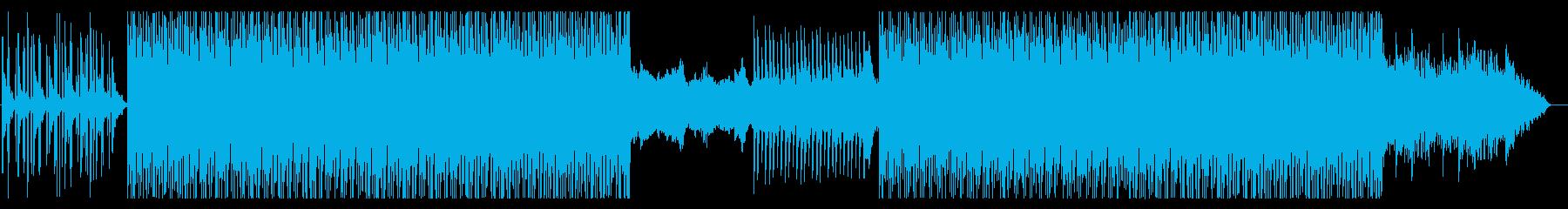 さわやかなハウス(トロピカル)の再生済みの波形