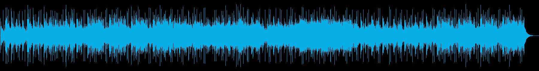 幻想的な自然の姿をイメージした曲の再生済みの波形