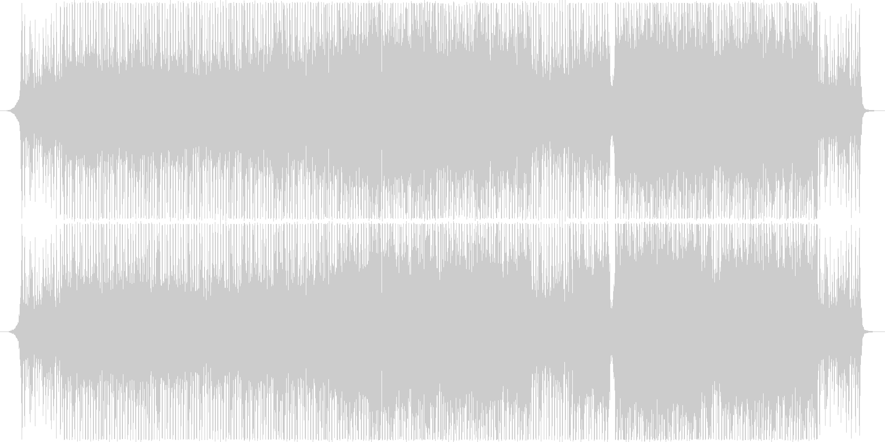 Hope/Bright/Rhythmic_A song with a good tempo's unreproduced waveform