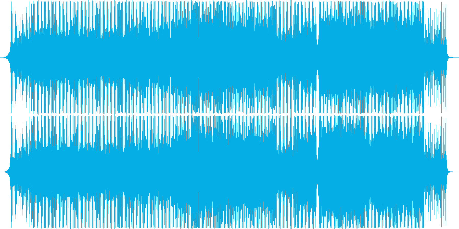 Hope/Bright/Rhythmic_A song with a good tempo's reproduced waveform