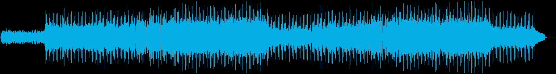VP系17A、爽やかなロック、ドライブの再生済みの波形