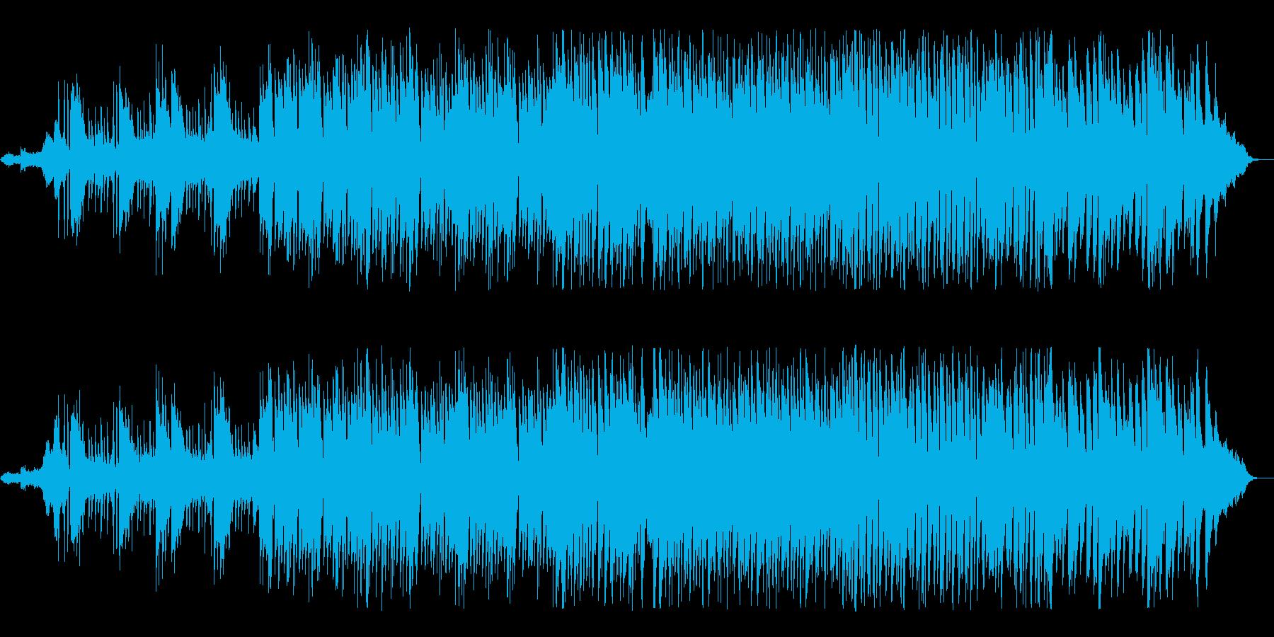 穏やかで明るいポップスソングの再生済みの波形