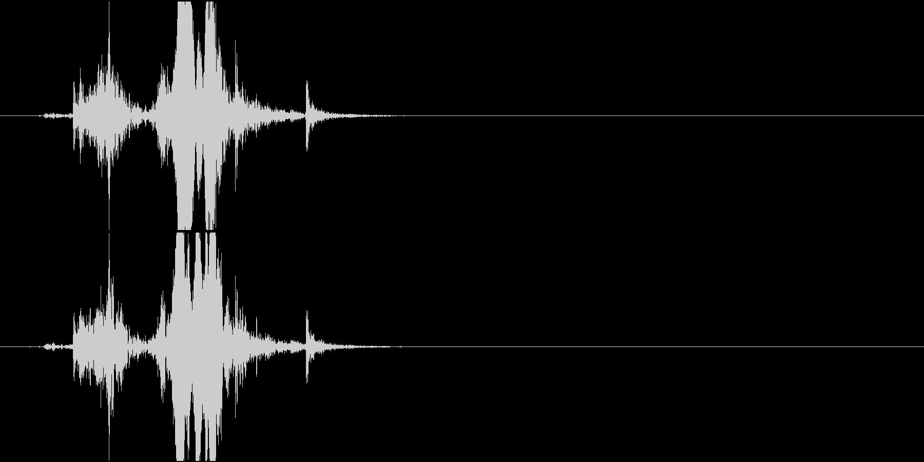 【生録音】 Lock 玄関の鍵をかける音の未再生の波形