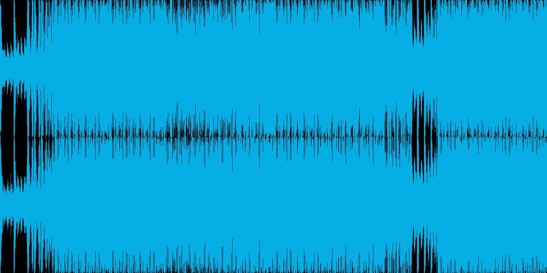 ループ■瞑想的でディープなテクノの再生済みの波形