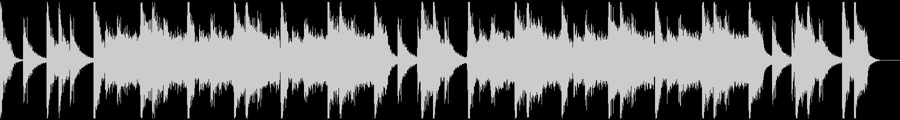 パワフルクラップ&ストンプのロック30秒の未再生の波形