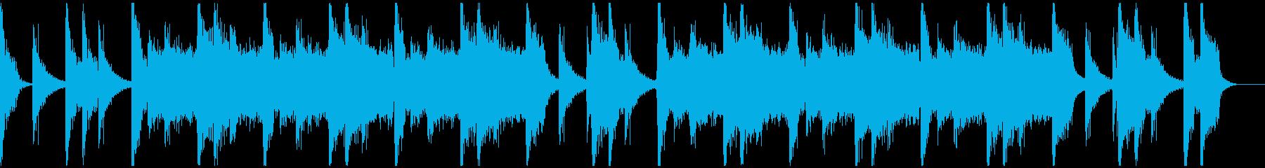パワフルクラップ&ストンプのロック30秒の再生済みの波形