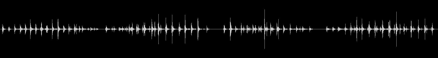 グループ、木製の階段、ステレオ、テ...の未再生の波形