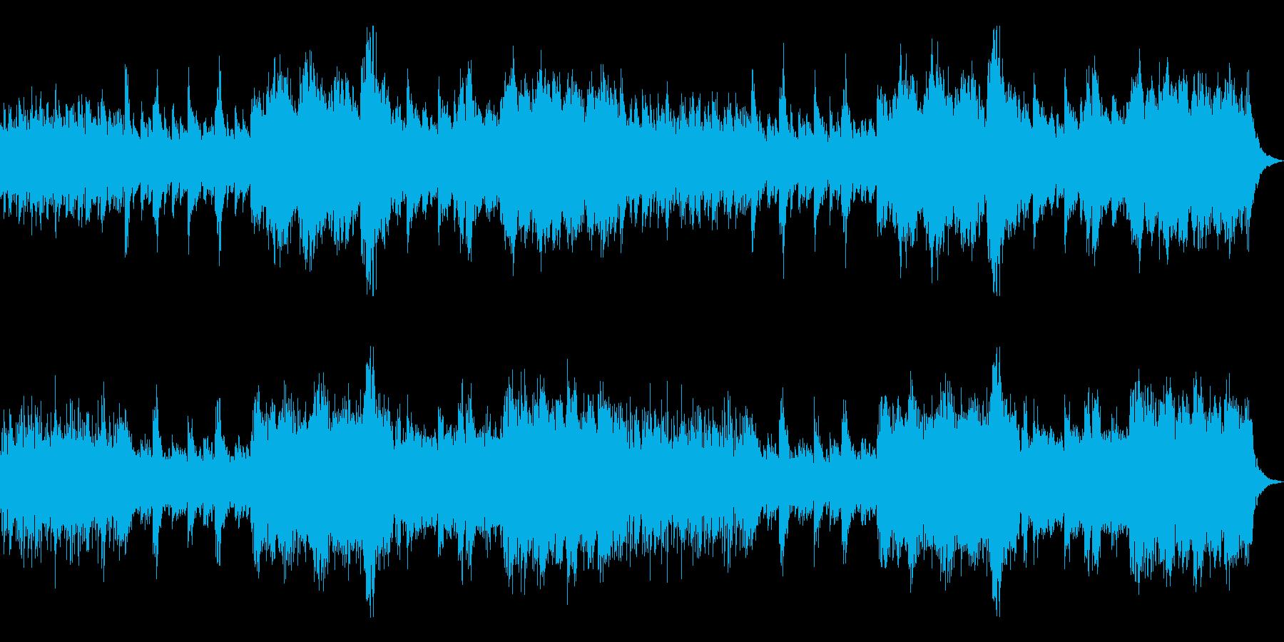 静かな緊迫/モダンな和風曲9A-ピアノ他の再生済みの波形