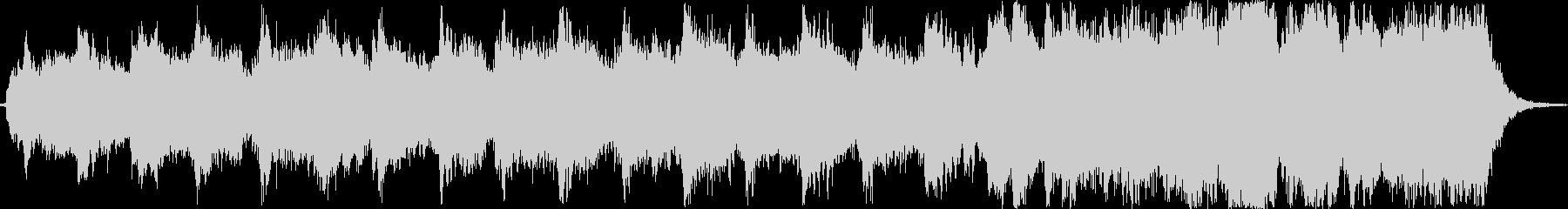アジア風のシンセの幻想的な約1分の曲ですの未再生の波形